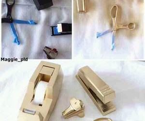 diy, gold, and tutorial image
