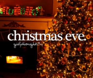 christmas, christmas eve, and lights image