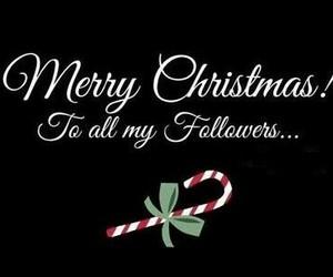 christmas, followers, and merry christmas image