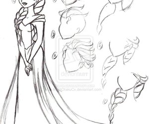 disney, elsa, and how to draw image