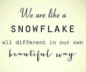 christmas, snow, and snowflake image