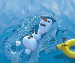 ete, olaf, and summer image