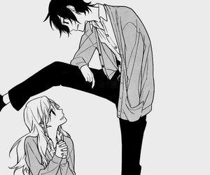 horimiya, manga, and miyamura image