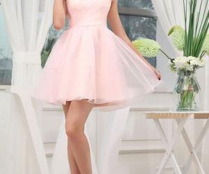 cute dress, dress, and short dress image