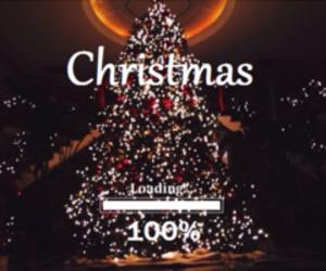 christmas, loading, and 100% image