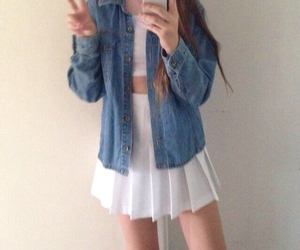 grunge, jeans, and outfit image