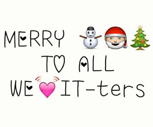 christmas, love, and merry image