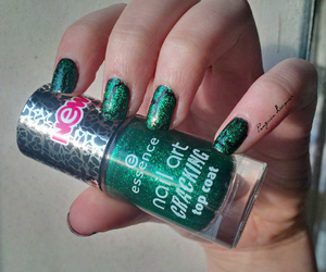 essence, glitter, and green image