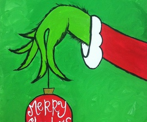merry christmas and the grinch. movie image