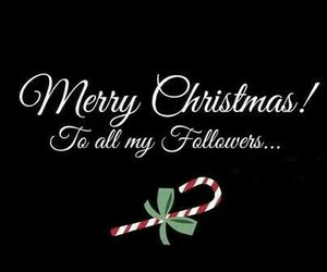 christmas, followers, and merry christmas image