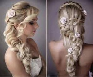 beauty and blond hair image