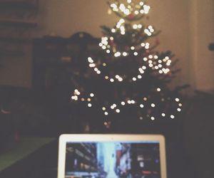 christmas, christmas tree, and family image