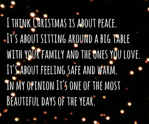 christmas, family, and peace image
