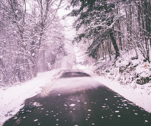 snow, december, and beautiful image