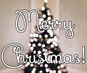 christmas, light, and merry image