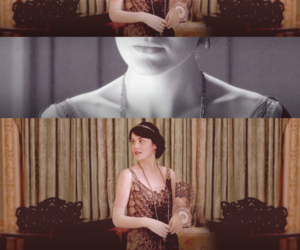 downton abbey, michelle dockery, and mary crawley image