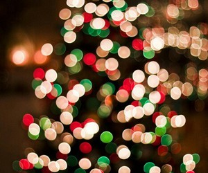 blur, bright, and christmas image