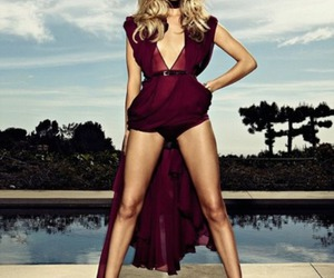 model, rosie huntington-whiteley, and dress image