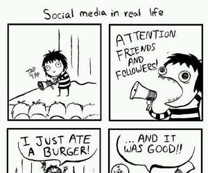 funny, social media, and lol image