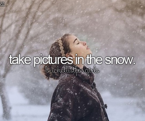 snow, winter, and picture image
