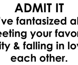 celebrity, fangirl, and crush image