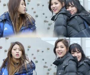 chanmi, seolhyun, and hyejeong image