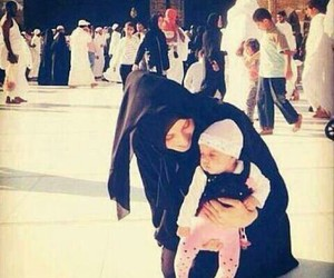 baby, hijab, and islam image