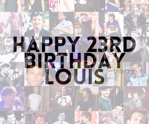 birthday, louistomlinson, and onedirection image