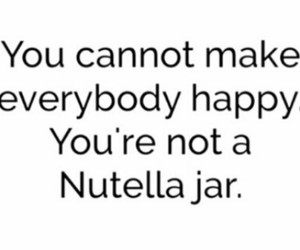 happy, nutella, and love image