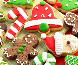 cakes, christmas, and noel image