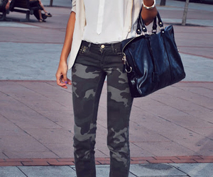 fashion, style, and military image