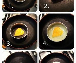 cook, diy, and egg image