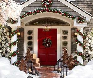 christmas and home image