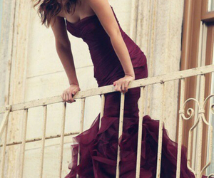 dress, leighton meester, and gossip girl image