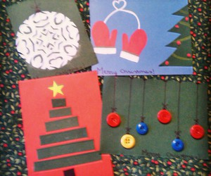 cards, christmas, and diy image