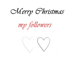 followers, christmas, and love image