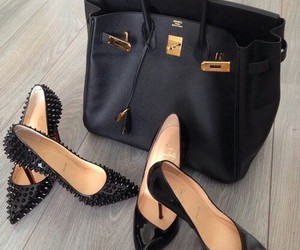 bag, love it, and black image