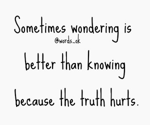 better, hurts, and knowing image