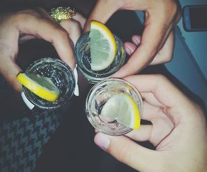 friends, alcohol, and party image