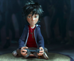 hiro, hamada, and big hero 6 image