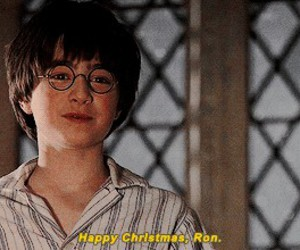 harry potter and christmas image