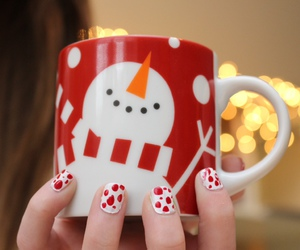 tumblr, christmas, and mug image
