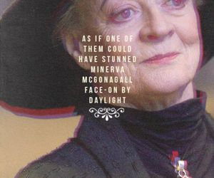 harry potter and minerva mcgonagall image
