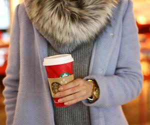starbucks, coffee, and fashion image