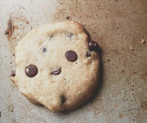 chocolate chip, smiley face, and Cookies image