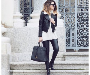 bag, chic, and look image