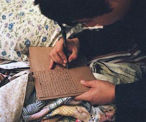 boy, vintage, and book image