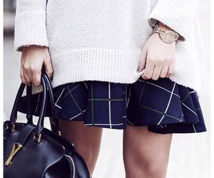 bag, socks, and black image