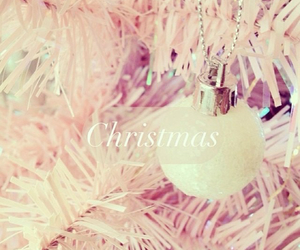 christmas, pink, and xmas image