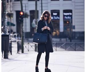 bag, shoes, and short hair image